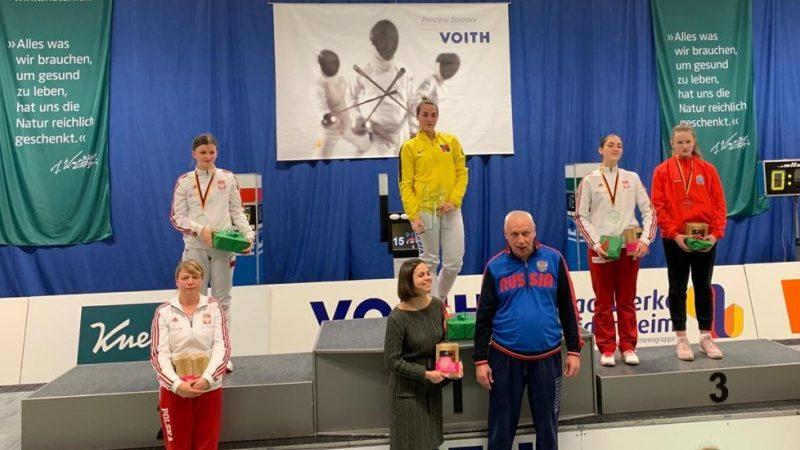 Szermierka: Trzy medale Pucharu Europy w Heidenhaim!
