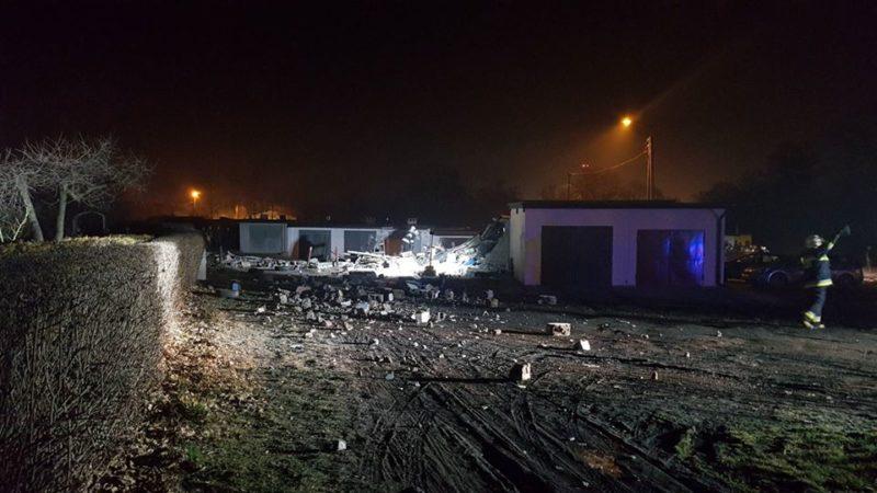 Wybuch gazu w Czerwionce – Leszczynach