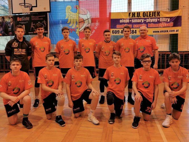 Koszykarze MKS Wodzisław pokonali MOSM Tychy