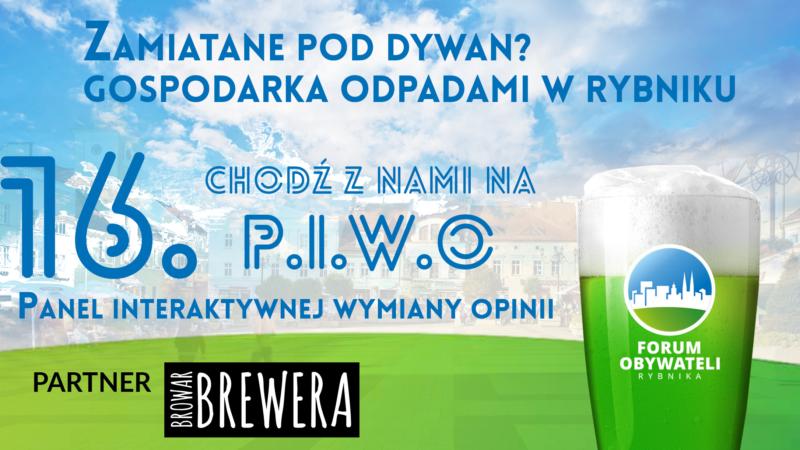 P.I.W.O, czyli dyskusja w mieście o mieście.