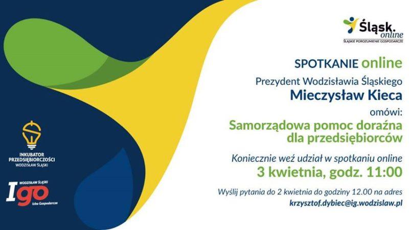 Prezydent Wodzisławia Śląskiego spotka się z przedsiębiorcami