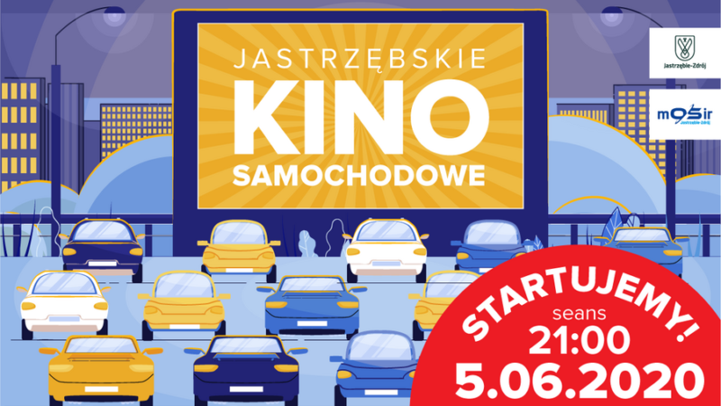 Kino samochodowe w Jastrzębiu