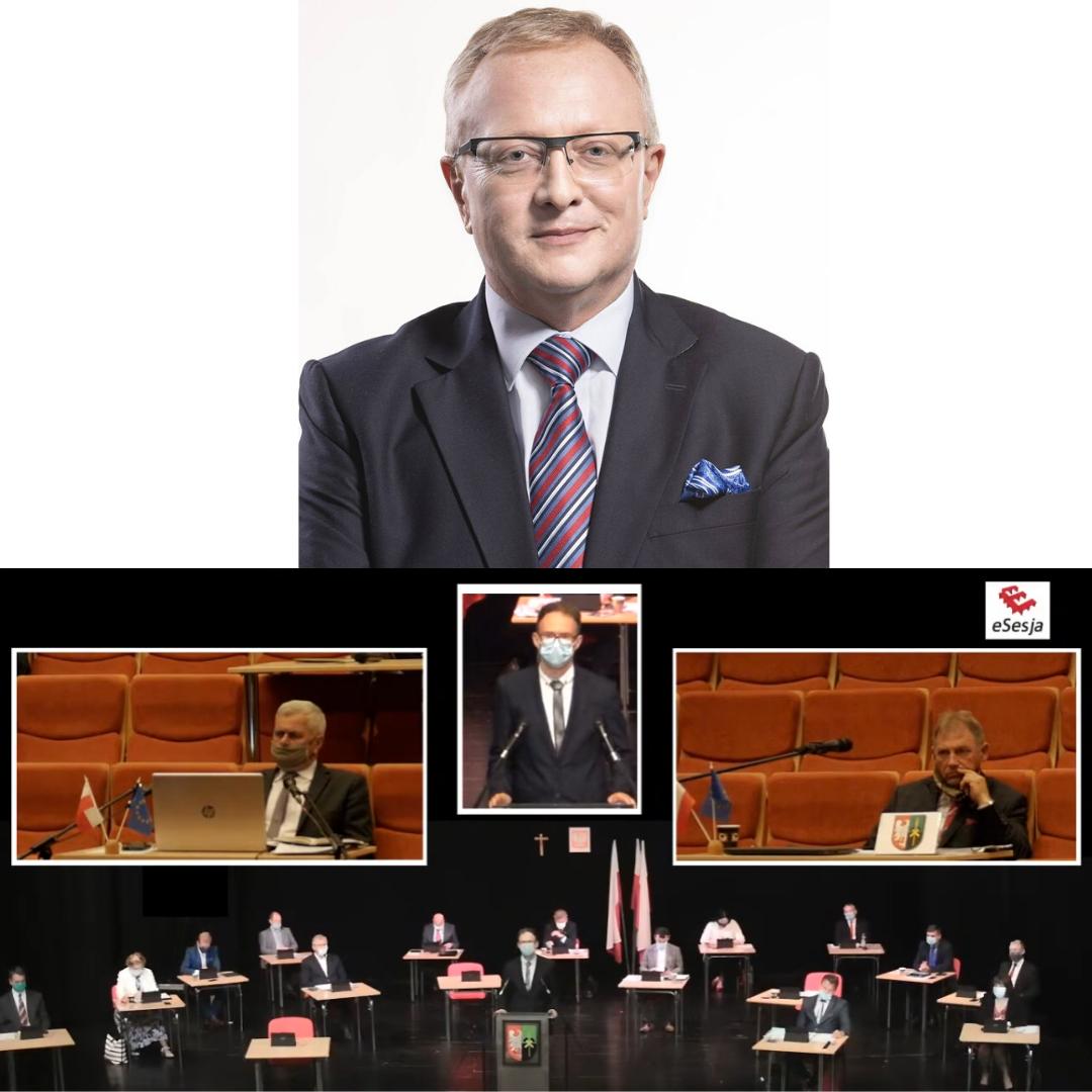 """Wotum zaufania a """"Brudny Harry"""", czyli skandaliczne wpisy Grzegorza Wolnika"""