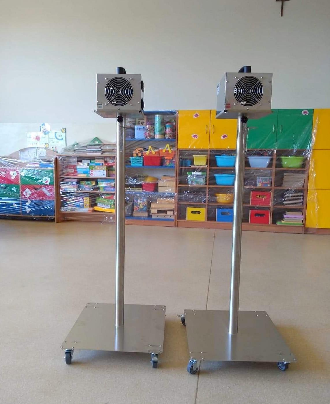 Ozonatory dla przedszkoli