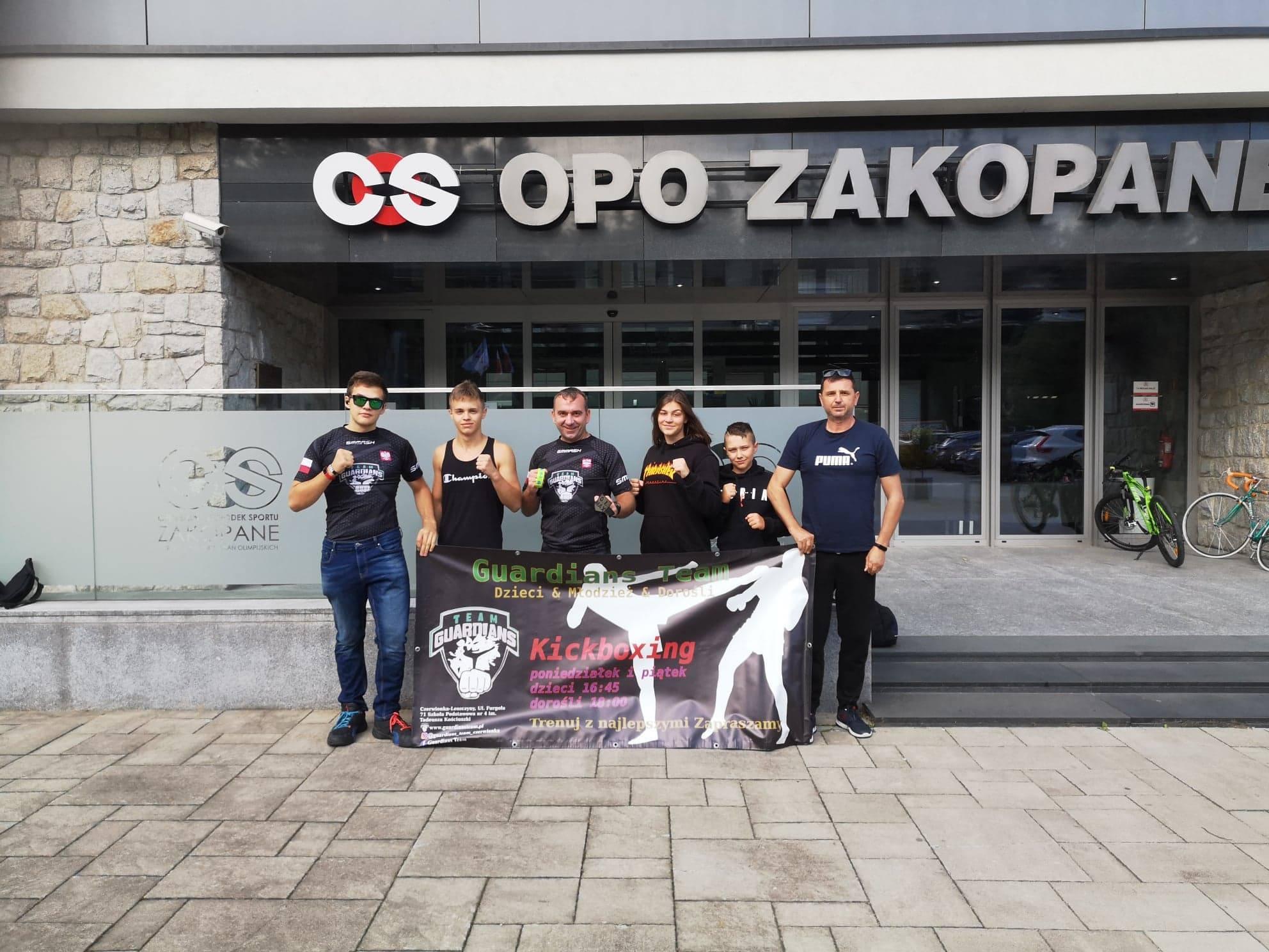 Guardians Team i kolejne sukcesy. Mają trenera Kadry Polski!