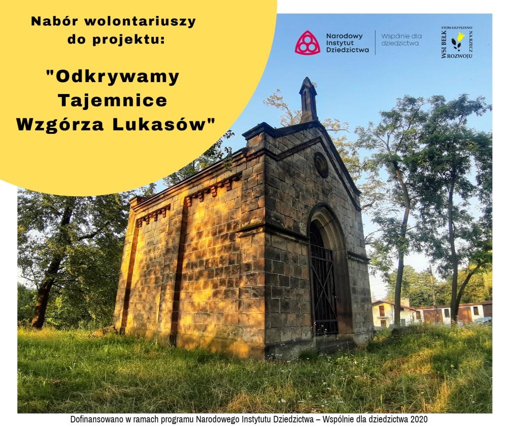 Remont Wzgórza Lukasów – nabór wolontariuszy
