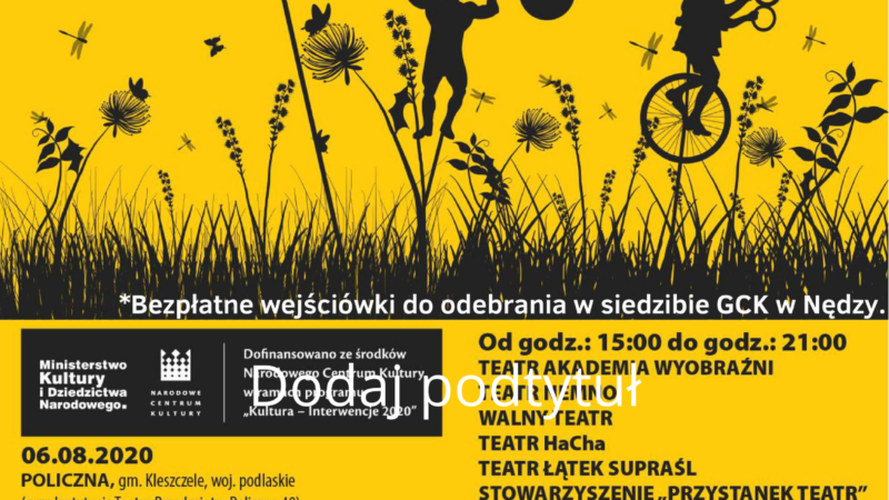 """Dziś """"Teatr na Ugorze"""""""