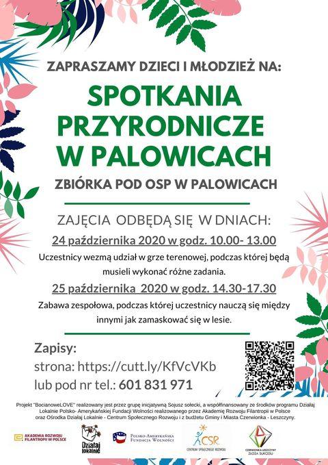 BocianoweLOVE, czyli spotkania przyrodnicze w Palowicach