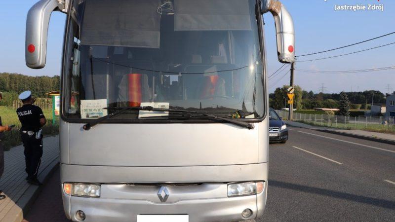 Pijany kierowca autobusu zatrzymany, dzięki reakcji pasażera