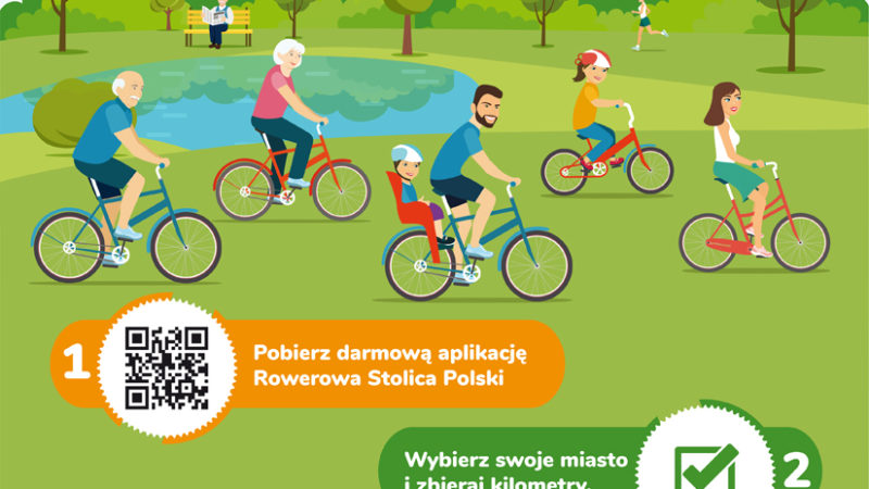 Śląskie miasta walczą o tytuł Rowerowej Stolicy Polski