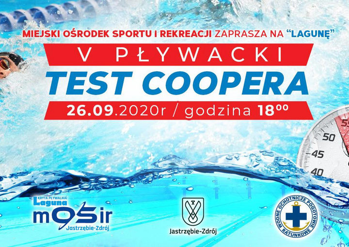 V Pływacki Test Coopera