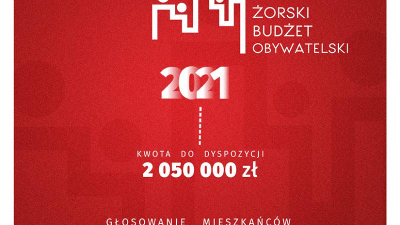 Żorski Budżet Obywatelski 2021 – trwa głosowanie!