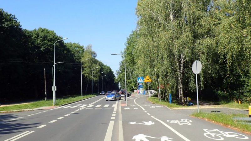 Potrącenie na przejściu dla pieszych w Rybniku