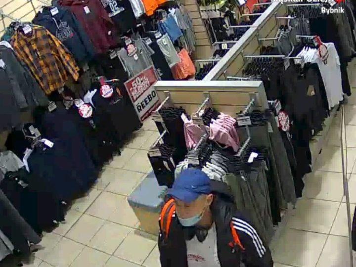 Podejrzany o kradzież. Policja publikuje wizerunek