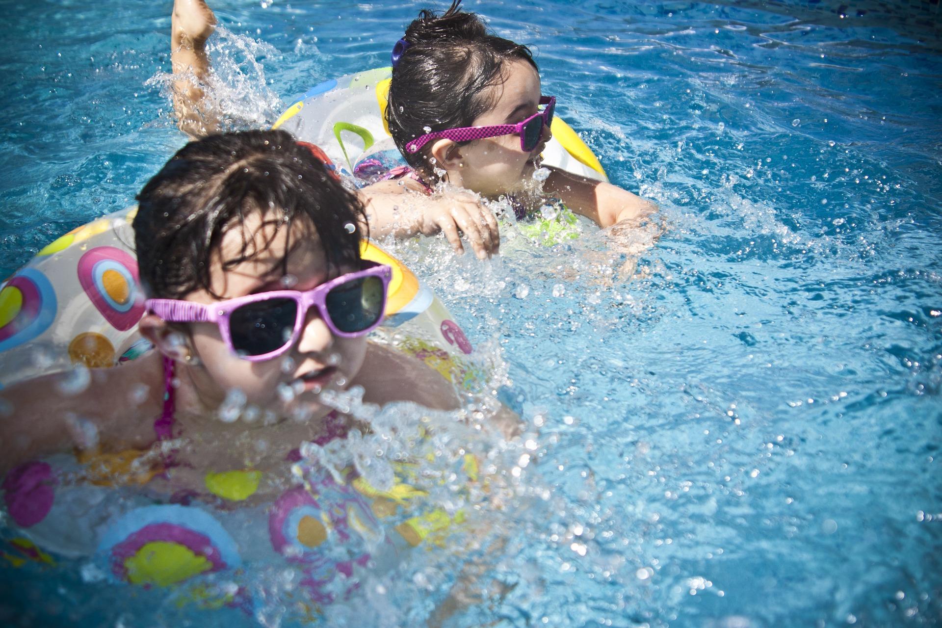 Nauka pływania w Marklowicach