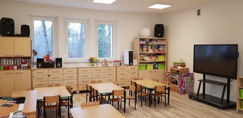 Dzieci w Rudach cieszą się świeżo wyremontowanym przedszkolem!