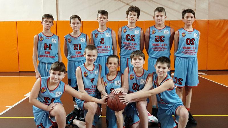 Zwycięstwo młodych koszykarzy MKS Wodzisław Śląski