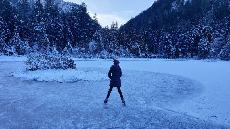 Uwaga na kruchy i cienki lód