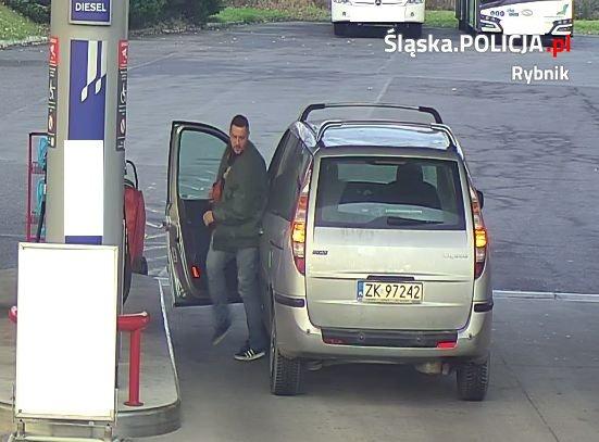 Kradzież – policja publikuje wizerunek