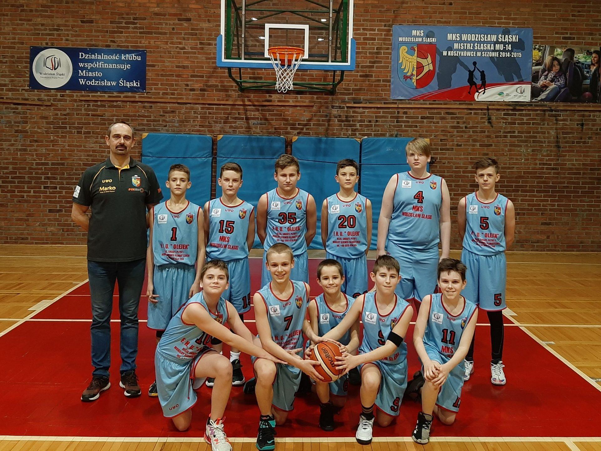 Szóste z rzędu zwycięstwo koszykarzy MKS Wodzisław Śląski