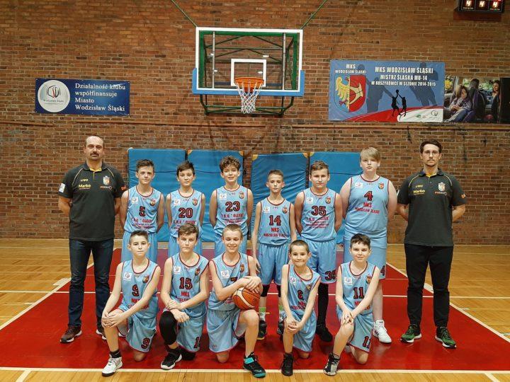 Wodzisławscy koszykarze wygrali u siebie