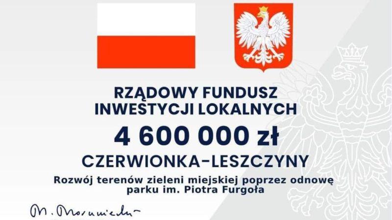 """Park im. Piotra Furgoła """"zaświeci dawnym blaskiem""""?"""