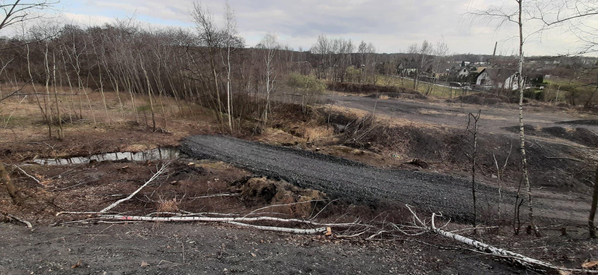 Nowa droga pod hałdami – kolejne problemy mieszkańców