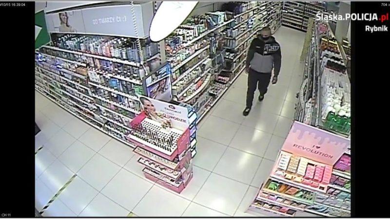 Policja poszukuje sprawcy kradzieży perfum