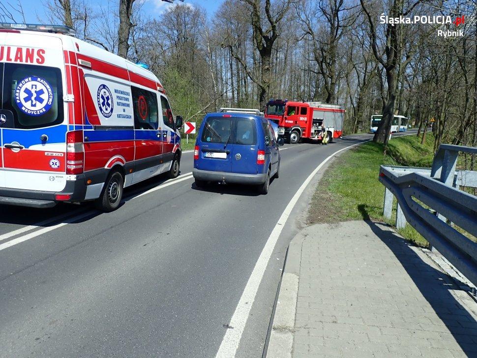 Groźny wypadek na ul. Robotniczej
