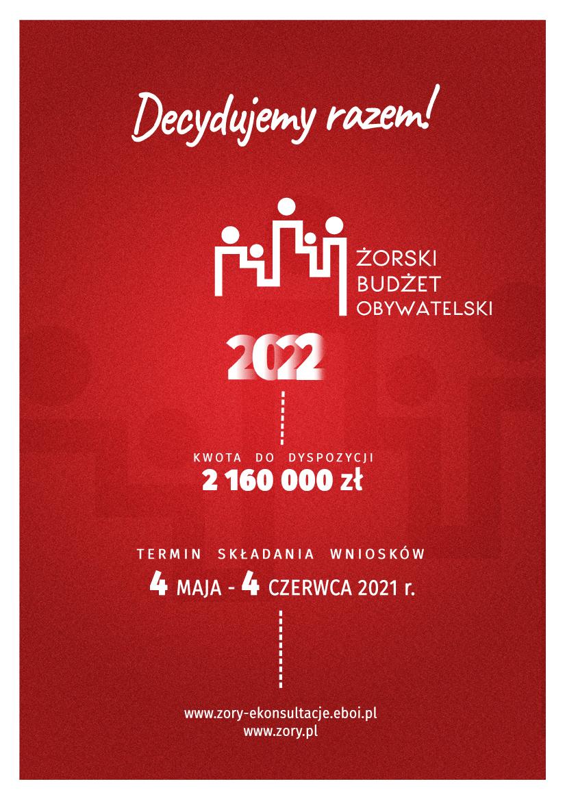 Złóż wniosek do Żorskiego Budżetu Obywatelskiego 2022 i zmieniaj miasto!