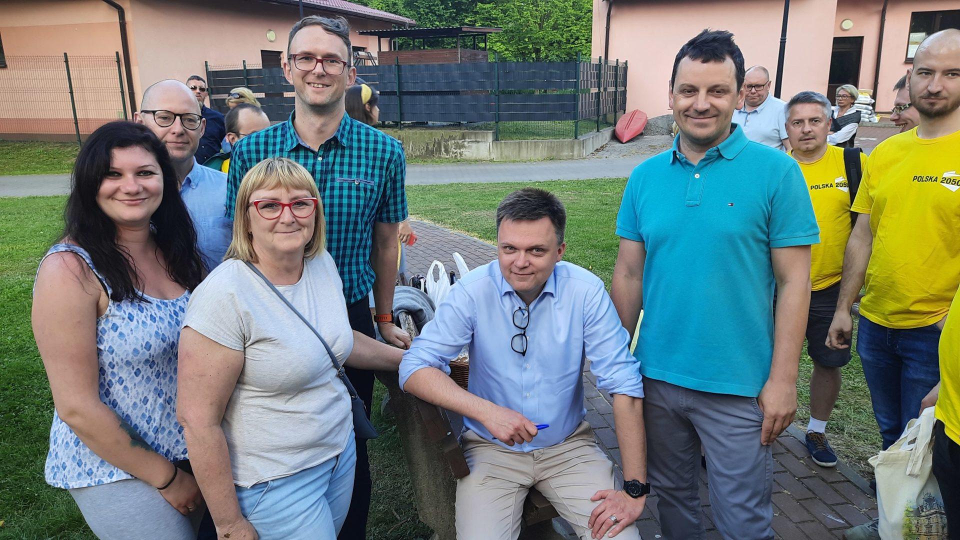 Wiceprezydent Masłowski w Polska 2050- wywiad