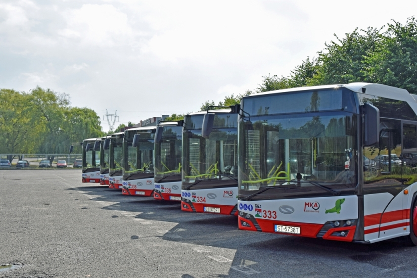 Siedem nowych autobusów elektrycznych na trasach MZK Jastrzębie