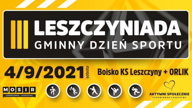 Gminne święto sportu, czyli III edycja Leszczyniady