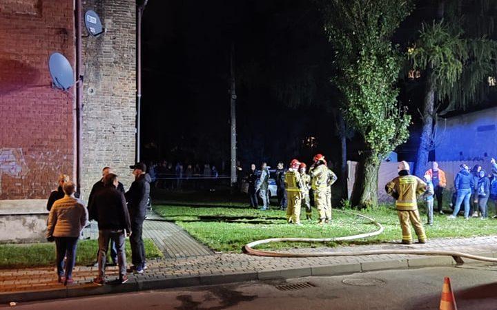 Zaprószenie ognia wstępną przyczyną pożaru familoka