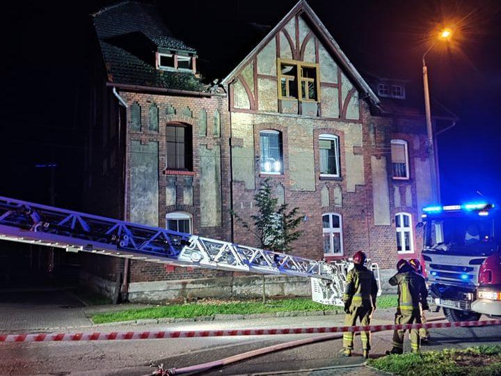 Płonie kolejny familok w Czerwionce! AKTUALIZACJA