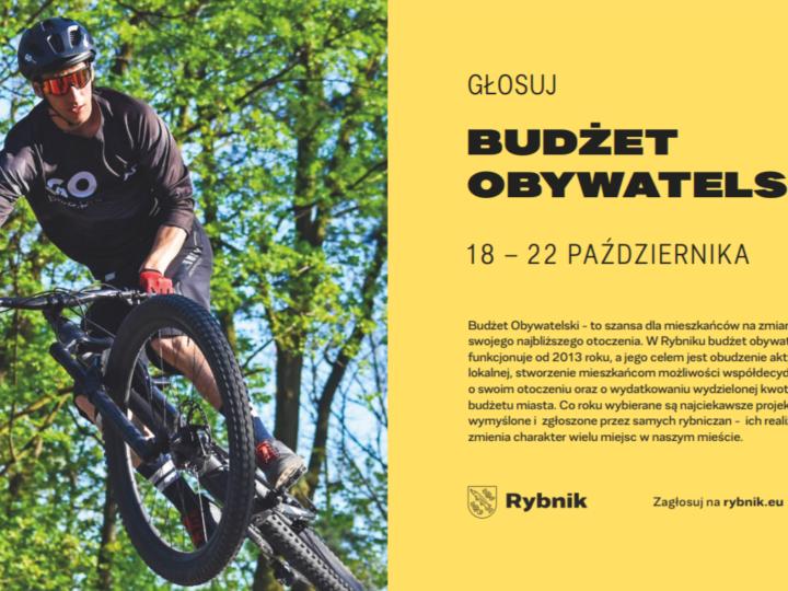 Budżet Obywatelski w Rybniku – ruszyło głosowanie!